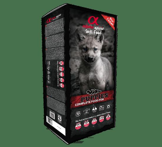 אלפא ספיריט חצי לח – מולטי פרוטאין לגורי כלבים