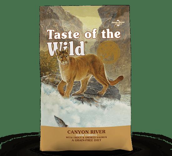 טייסט אוף דה וויילד קניון לחתולים – דגים