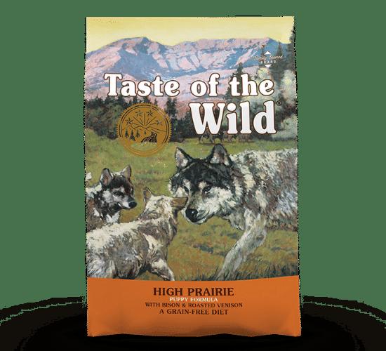 טייסט אוף דה ווילד לגורי כלבים – ביזון ואייל