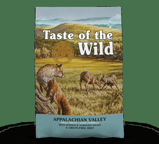 טייסט אוף דה ווילד לכלבים מגזעים קטנים – אייל וגרגרי חומוס