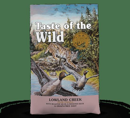 טייסט אוף דה ווילד לואולנד קריק לחתולים – בשר שליו צלוי ובשר ברווז צלוי