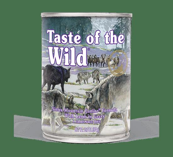 טייסט אוף דה ווילד סיירה לכלבים – בשר כבש צלוי ברוטב