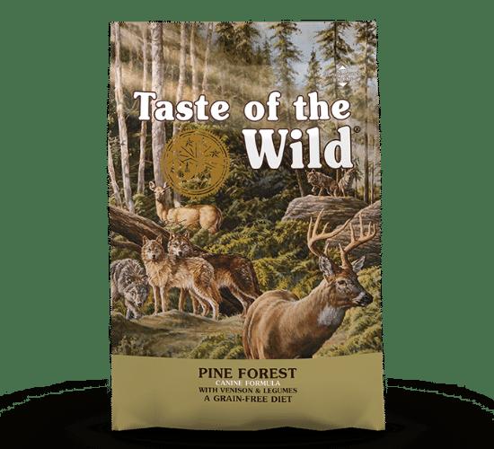 טייסט אוף דה ווילד פורסט לכלבים – בשר אייל ועדשים