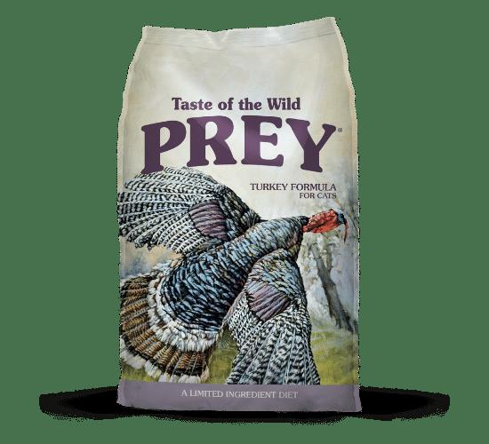 טייסט אוף דה ווילד Prey לחתולים – בשר הודו טרי