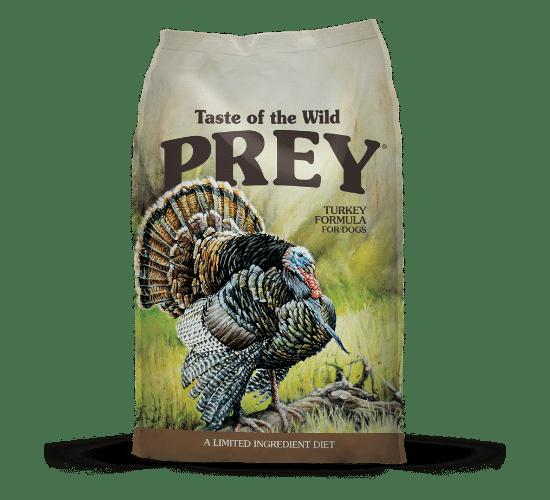 טייסט אוף דה ווילד Prey לכלבים – בשר הודו טרי