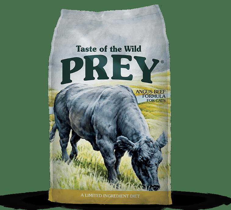 טייסט אוף דה ווילד Prey לחתולים – בשר בקר אנגוס טרי