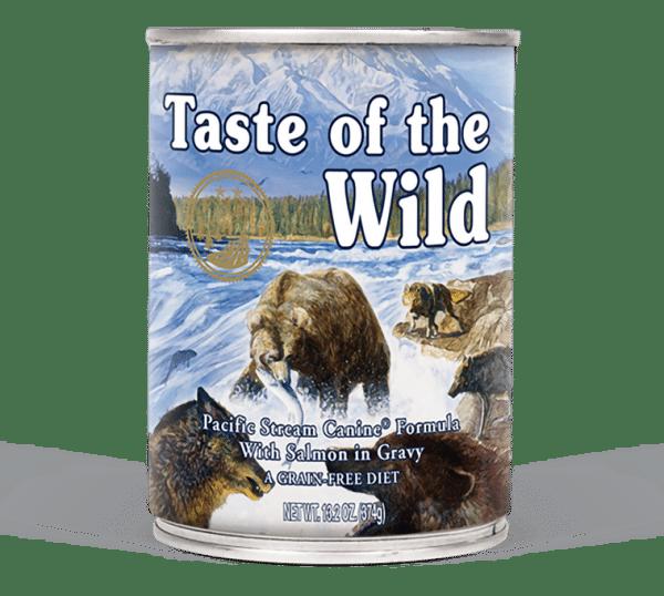 טייסט אוף דה ווילד פסיפיק לכלבים– דג סלמון ברוטב