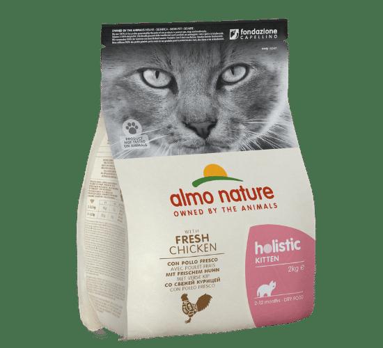 אלמו נייצ'ר הוליסטיק מזון יבש לגורי חתולים – עם בשר עוף טרי