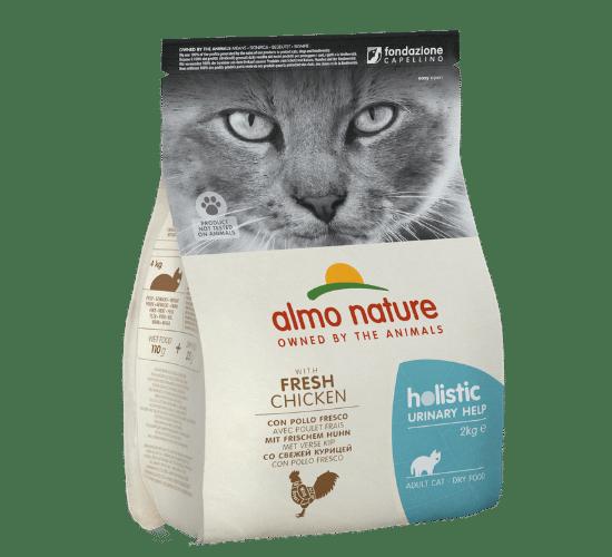 אלמו נייצ'ר הוליסטיק מזון יבש לחתולים בוגרים הסובלים מבעיות בכליות – בשר עוף טרי