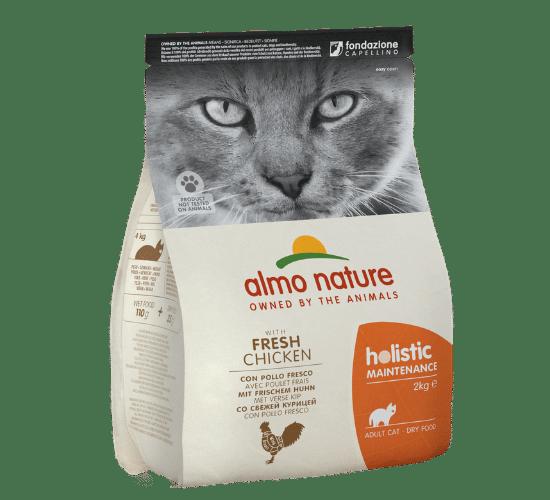 אלמו נייצ'ר הוליסטיק מזון יבש לחתולים בוגרים – עם בשר עוף טרי