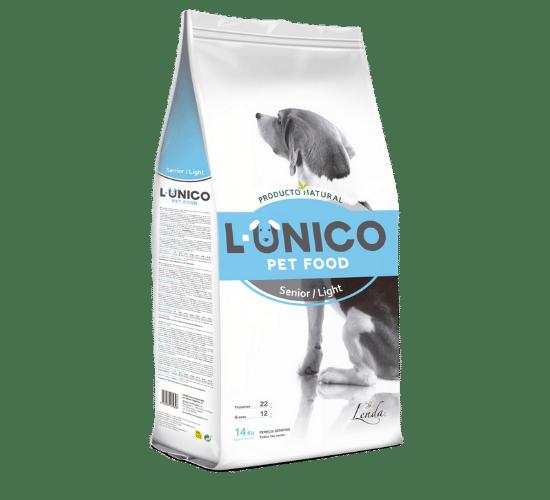 L-אוניקו סניור/לייט – לכלבים מבוגרים או לכלבים הסובלים מעודף משקל