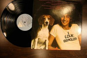 Tryin To Get The Feeling Album LP Record I Love Beagles